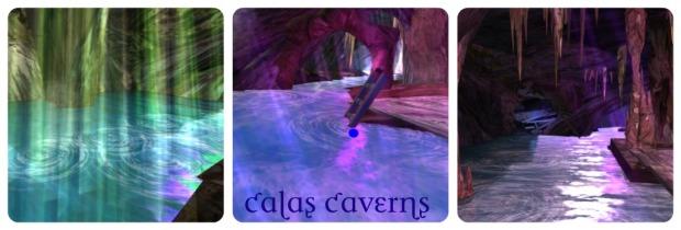 Calas Caverns Collage