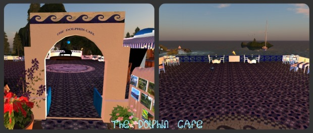 Dolphin Cafe Collage
